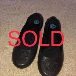 Michael kors flat ballerina slippers